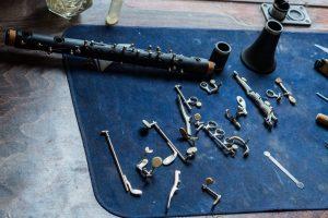 Changement de tampons pour une clarinette