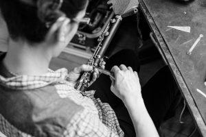 Remontage d'une clarinette en Mib suite à un retamponnage