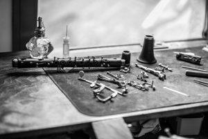 Préparation pour le nettoyage d'une clarinette